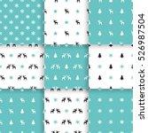 set of scandinavian trend... | Shutterstock .eps vector #526987504