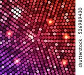 vector pink disco lights purple ...   Shutterstock .eps vector #526989430