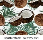 beautiful seamless vector... | Shutterstock .eps vector #526992454