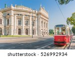 famous wiener ringstrasse with... | Shutterstock . vector #526992934