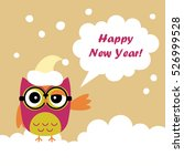 Poster Happy New Year  Vector...