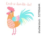 cute vector characters for the... | Shutterstock .eps vector #527006644