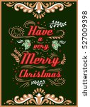 typographical greeting card.... | Shutterstock . vector #527009398