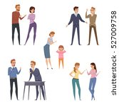 quarrel icons collection with... | Shutterstock .eps vector #527009758