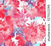 imprints japanese chrysanthemum.... | Shutterstock . vector #527012290