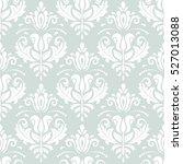 damask vector classic pattern.... | Shutterstock .eps vector #527013088