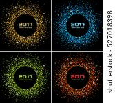 set of  bright colorful  new... | Shutterstock .eps vector #527018398