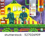 colored illustration on drug... | Shutterstock . vector #527026909