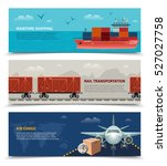 transportation horizontal... | Shutterstock .eps vector #527027758