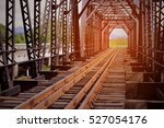 railway for high speed train... | Shutterstock . vector #527054176