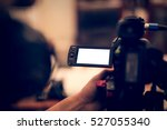 camera with blank preview... | Shutterstock . vector #527055340