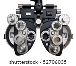 Optometrist Diopter. White...