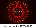 vector red rock background....
