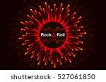 vector red rock background.... | Shutterstock .eps vector #527061850