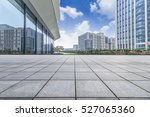 empty floor with modern... | Shutterstock . vector #527065360
