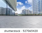empty floor with modern... | Shutterstock . vector #527065420