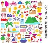 holiday icon | Shutterstock .eps vector #52707997
