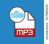 cloud music concept file mp3...