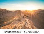 unrecognizable people tourists... | Shutterstock . vector #527089864