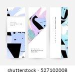geometric background template... | Shutterstock .eps vector #527102008