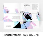 geometric background template... | Shutterstock .eps vector #527102278