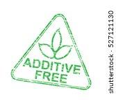 additive free triangular grungy ... | Shutterstock .eps vector #527121130