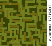military seamless pattern. army ... | Shutterstock . vector #527143564