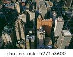downtown detroit  | Shutterstock . vector #527158600