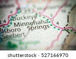 minnehaha springs. west... | Shutterstock . vector #527166970