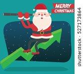 santa claus concept design... | Shutterstock .eps vector #527173864