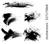 vector set of grunge brush... | Shutterstock .eps vector #527175868