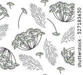 dill pattern | Shutterstock .eps vector #527183650