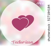heart icon | Shutterstock .eps vector #527184184