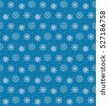 seamless pattern of many white... | Shutterstock .eps vector #527186758