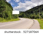 blank billboard sign by empty... | Shutterstock . vector #527187064