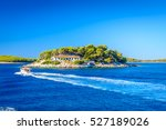 waterfront view at island in... | Shutterstock . vector #527189026