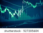 forex market background ... | Shutterstock . vector #527205604