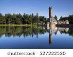 hunting lodge sint hubertus...   Shutterstock . vector #527222530