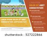 template for advertising... | Shutterstock .eps vector #527222866