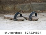 Handmade Woodenn Sandal....