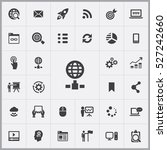 internet icon. digital