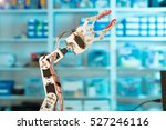 model of industrial robot... | Shutterstock . vector #527246116