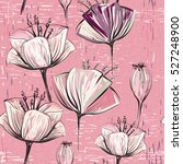 vector colorful tulips.... | Shutterstock .eps vector #527248900