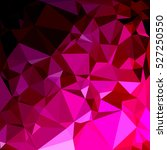 pink polygonal mosaic... | Shutterstock .eps vector #527250550