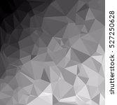 gray polygonal mosaic... | Shutterstock .eps vector #527250628