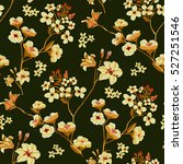 seamless floral pattern in... | Shutterstock .eps vector #527251546