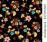 seamless floral pattern in... | Shutterstock .eps vector #527251564