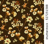 seamless floral pattern in... | Shutterstock .eps vector #527251588