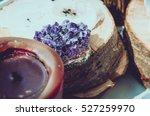 purple and gemmy amethyst stone ...   Shutterstock . vector #527259970