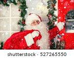 the real santa claus. santa... | Shutterstock . vector #527265550